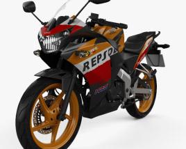 3D model of Honda CBR125R 2012