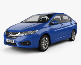 3D model of Honda City 2013