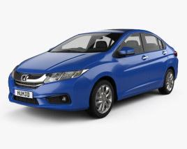 Honda City 2013 Modèle 3D