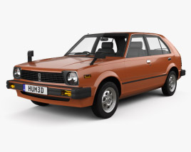 3D model of Honda Civic 1979
