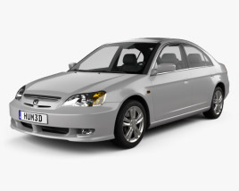 3D model of Honda Civic 2001