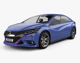 3D model of Honda B 2014