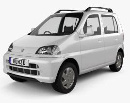 3D model of Honda Life 1997