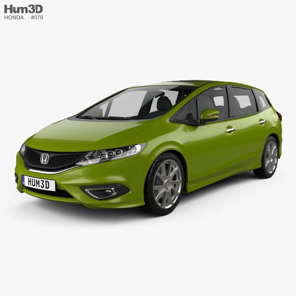 Honda Jade 2014 3D model