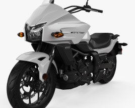 3D model of Honda CTX700 2012
