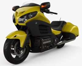 3D model of Honda Gold Wing F6B 2013