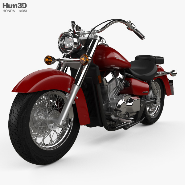 Honda Shadow Aero 750 2013 3D model