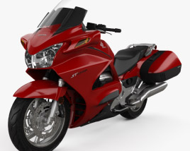 3D model of Honda ST1300 2013