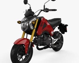 3D model of Honda Grom 125 2014