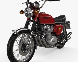 3D model of Honda CB 750 Four 1969