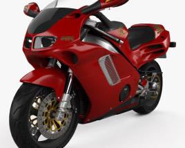 3D model of Honda NR 1992