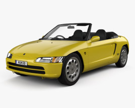 3D model of Honda Beat (PP1) 1991