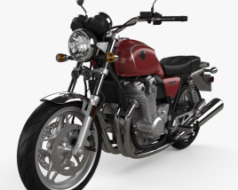 3D model of Honda CB 1100 2010