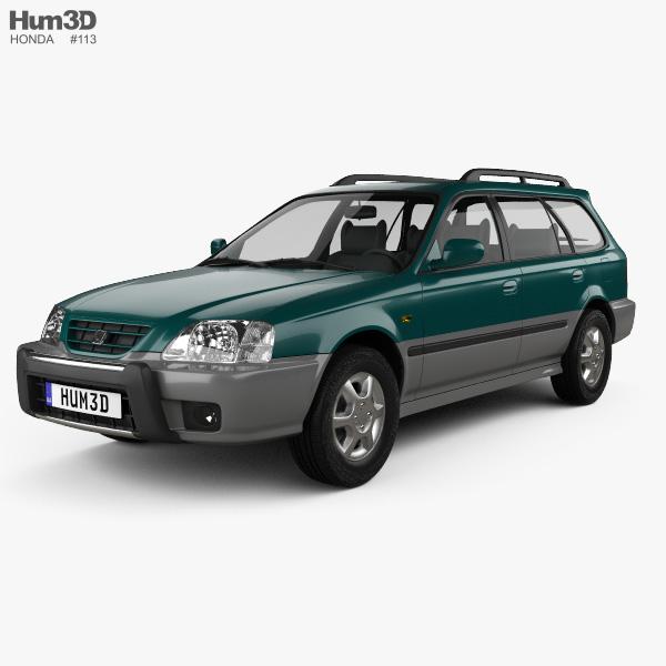 Honda Orthia (EL3) 1996 3D model