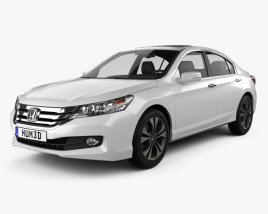 3D model of Honda Accord (CN) 2013