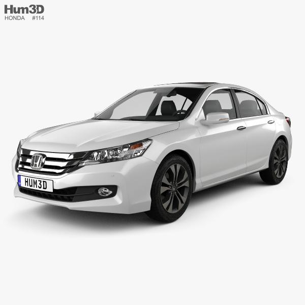 Honda Accord (CN) 2013 3D model