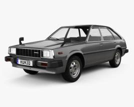 3D model of Honda Quint 1980
