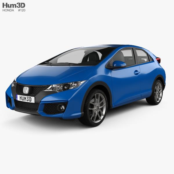 Honda Civic hatchback 2015 3D model