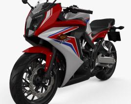 Honda CBR650F 2015 3D model