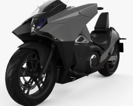 3D model of Honda NM4 Vultus 2014