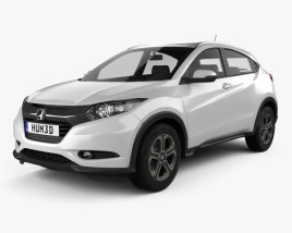 3D model of Honda HR-V EX-L (BR) 2015