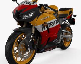 3D model of Honda CBR600RR 2015
