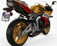 Honda CBR600RR 2015 3d model