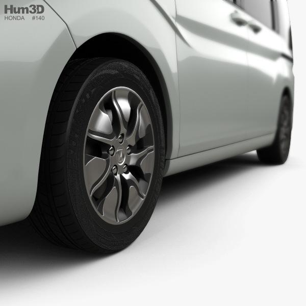 Honda Stepwgn 2015 3D model - Vehicles on Hum3D