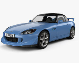 3D model of Honda S2000 CR 2008
