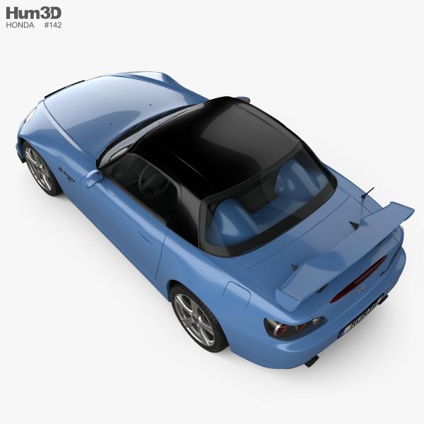 Honda S2000 CR 2008 3D model