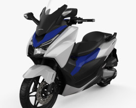 3D model of Honda Forza 125 2015