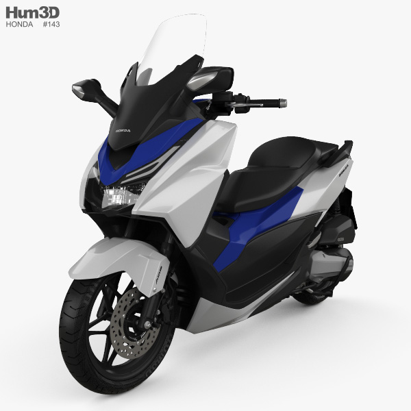 Honda Forza 125 2015 3D model