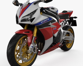 3D model of Honda CBR1000RR Fireblade 2016