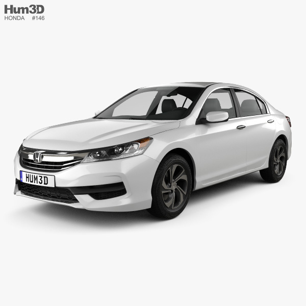 Honda Accord LX 2016 3D model
