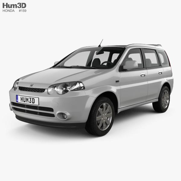 3D model of Honda HR-V 2001