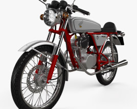 Honda CB50V Dream 50 1997 3D model