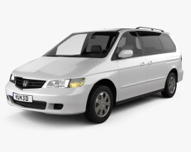 3D model of Honda Odyssey 1999
