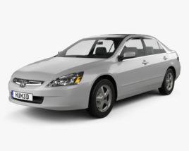 3D model of Honda Accord 2004