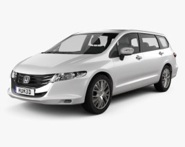 3D model of Honda Odyssey (JP) 2008