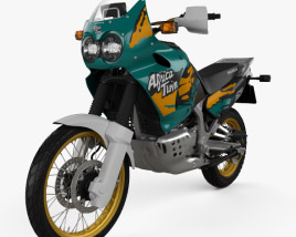 3D model of Honda XRV750 Africa Twin 1993