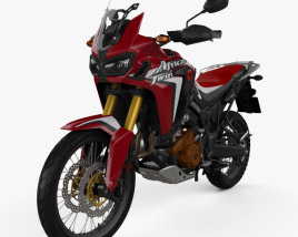 Honda CRF1000 Africa Twin 2016 3D model