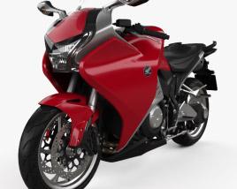 3D model of Honda VFR1200F 2015