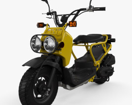3D model of Honda NPS50 Zoomer (Ruckus) 2005