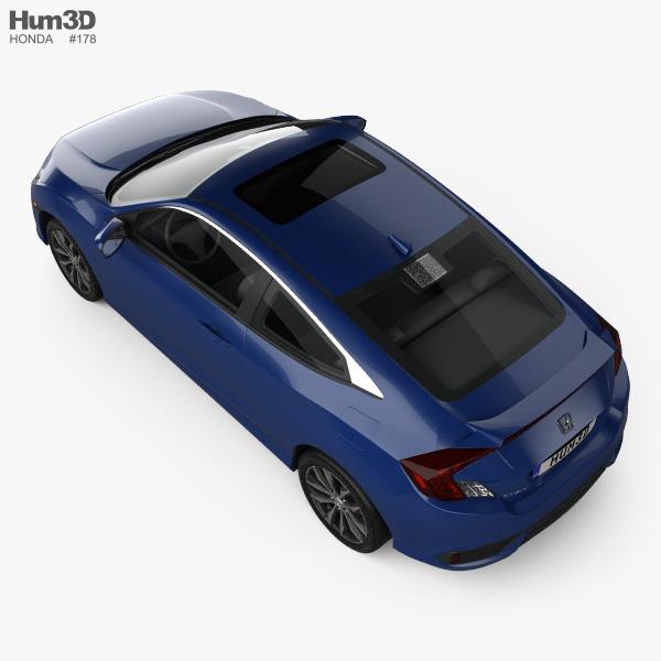 Honda Civic coupe 2016 3D model