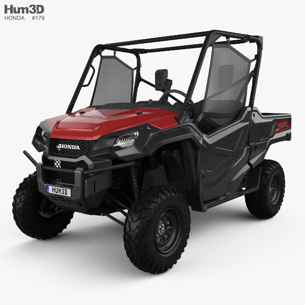 Honda Pioneer 1000-3 2016 3D model
