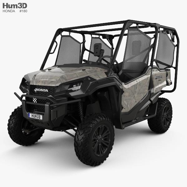 Honda Pioneer 1000-5 2016 3D model