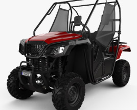 3D model of Honda Pioneer 500 2016
