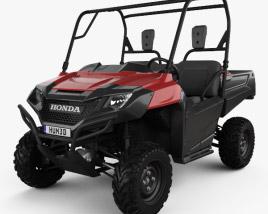 3D model of Honda Pioneer 700-2 2016