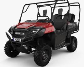 3D model of Honda Pioneer 700-4 2016