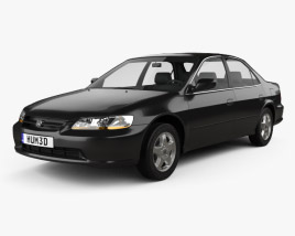 3D model of Honda Accord EX (US) 1998